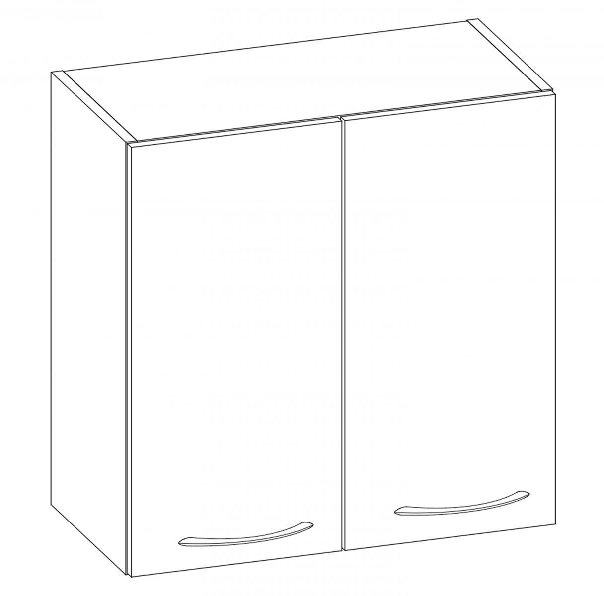 Kuchyňská skříňka Largo 04/G60 sonoma světlá