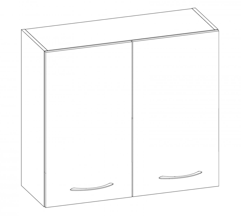Kuchyňská skříňka Largo 06/G80 sonoma světlá