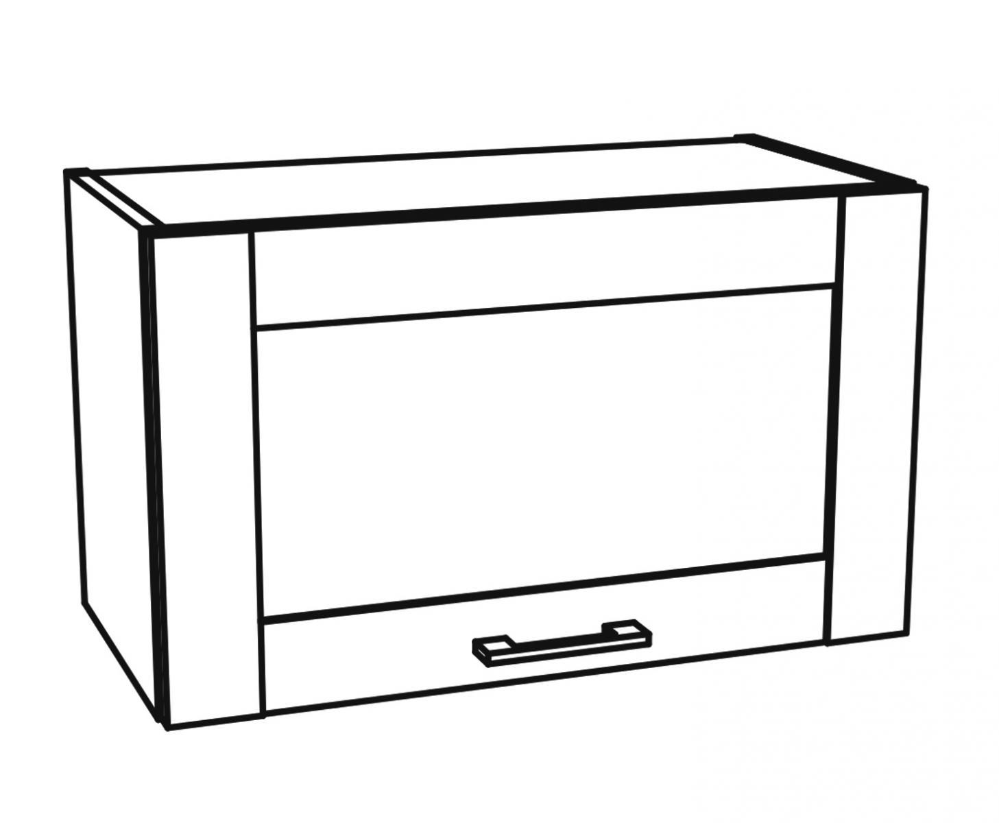 Kuchyňská skříňka Kingston 06/G60OK dub wotan