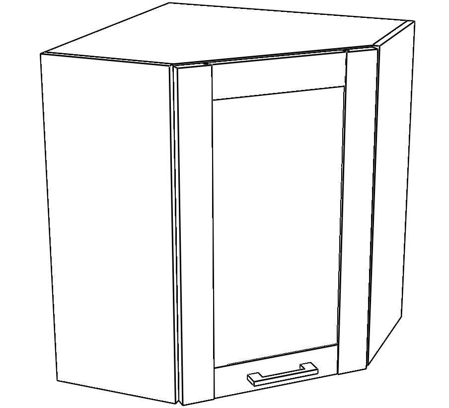 Kuchyňská skříňka Kingston 10/G60NW dub wotan