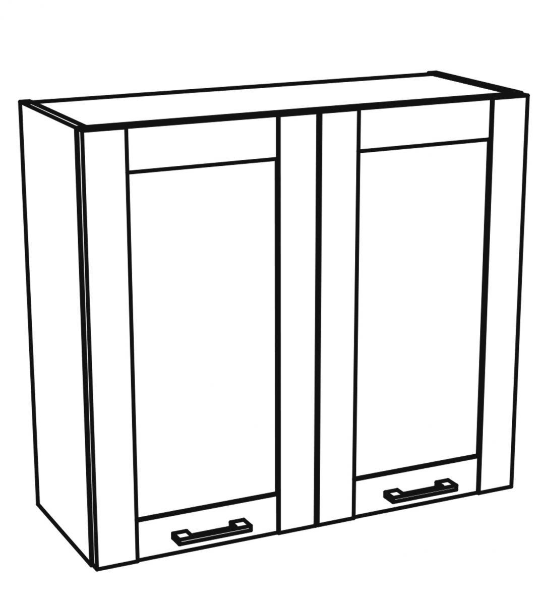 Kuchyňská skříňka Kingston 26/G80 dub wotan