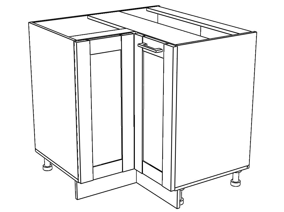 Kuchyňská skříňka Kingston 21/D90NW dub wotan