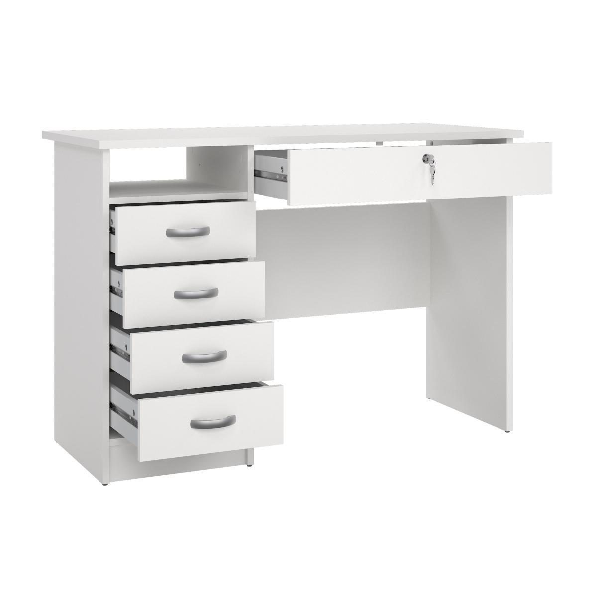 Psací stůl Felix 163 bílý