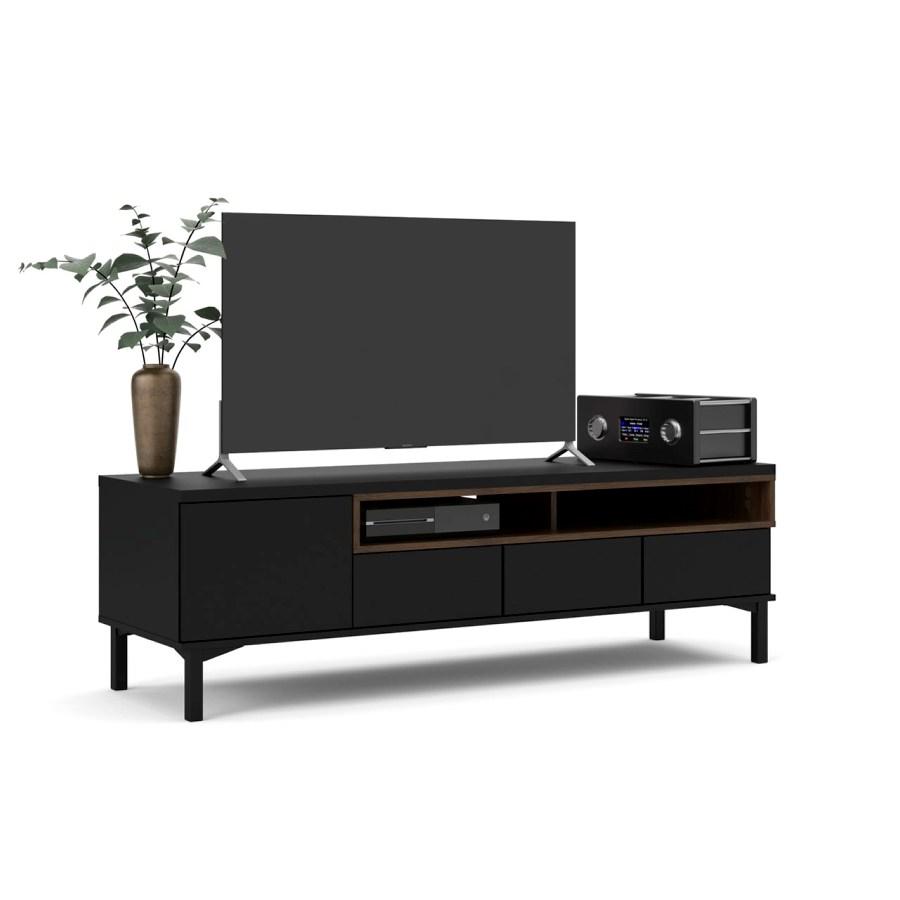 TV stolek Atrei 171 černá/ořech
