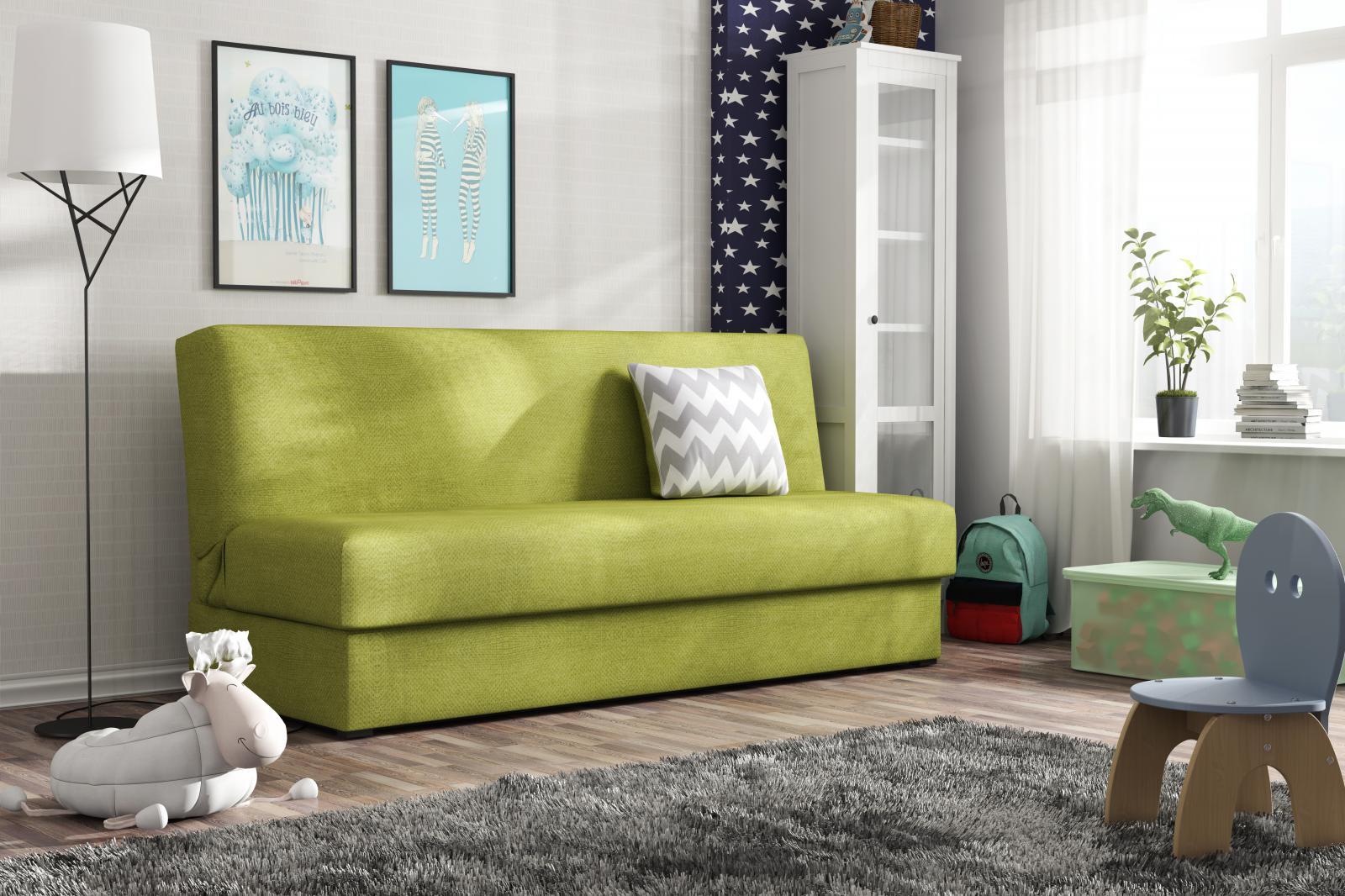 Pohovka Deli Mini zelená