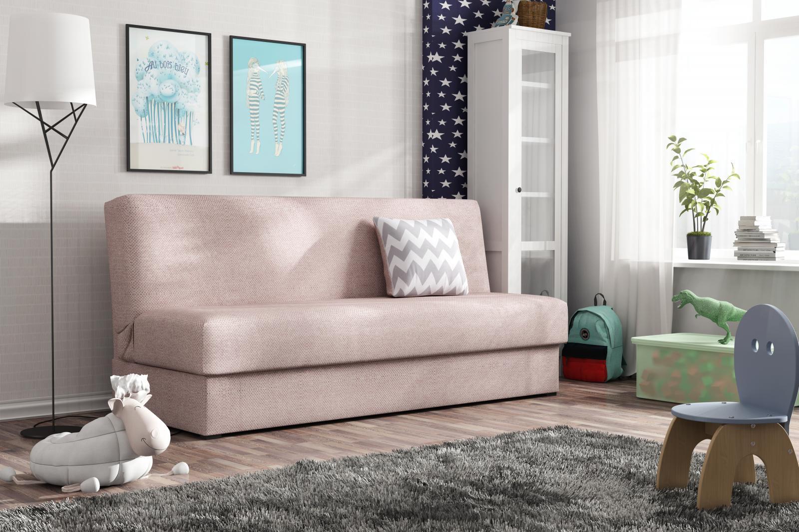 Pohovka Deli Mini růžová