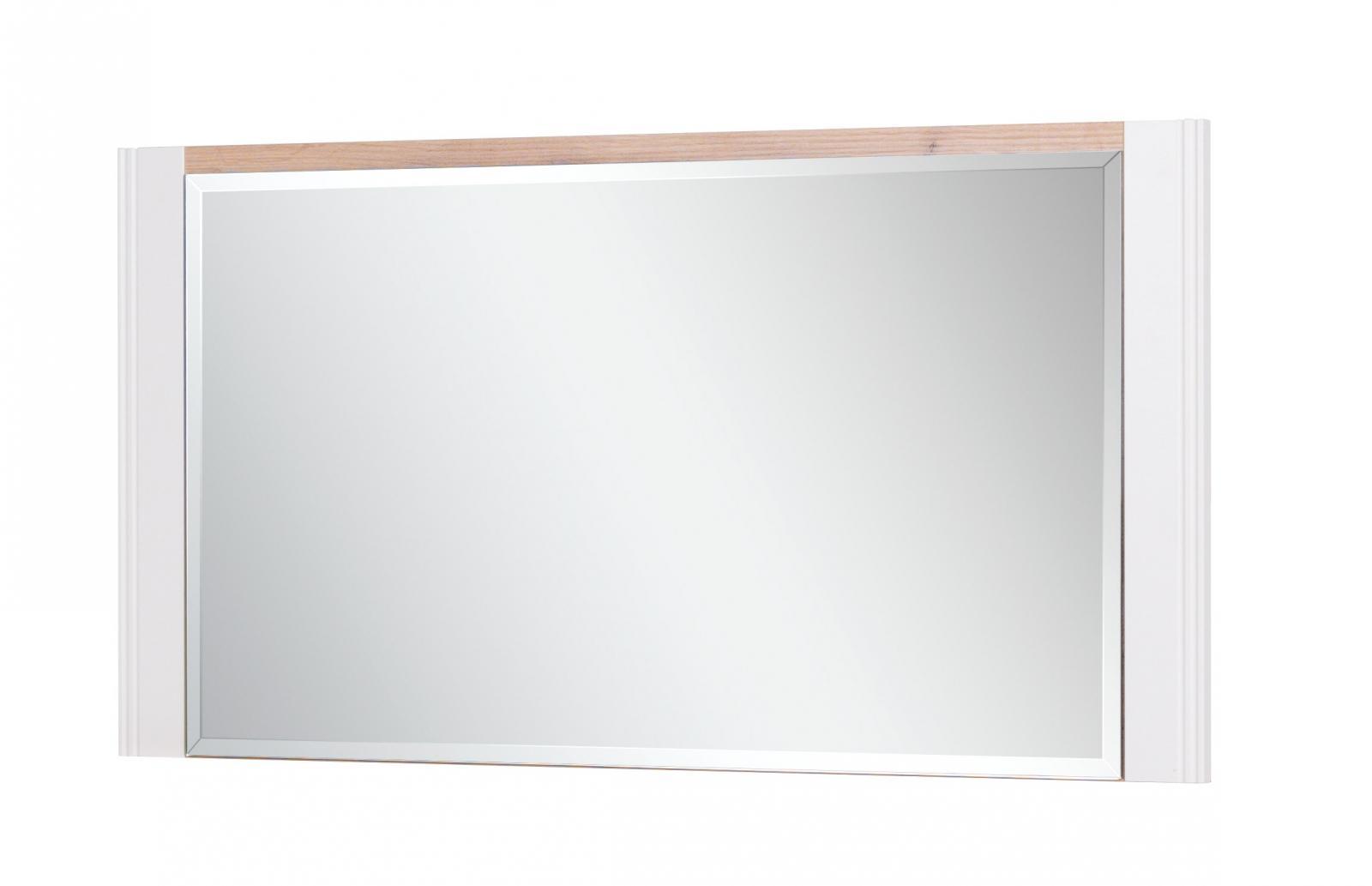 Zrcadlo Bacardi R20 dub artisan/raw steel