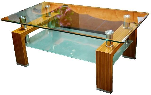 Konferenční stolek A 08-2 světlý ořech