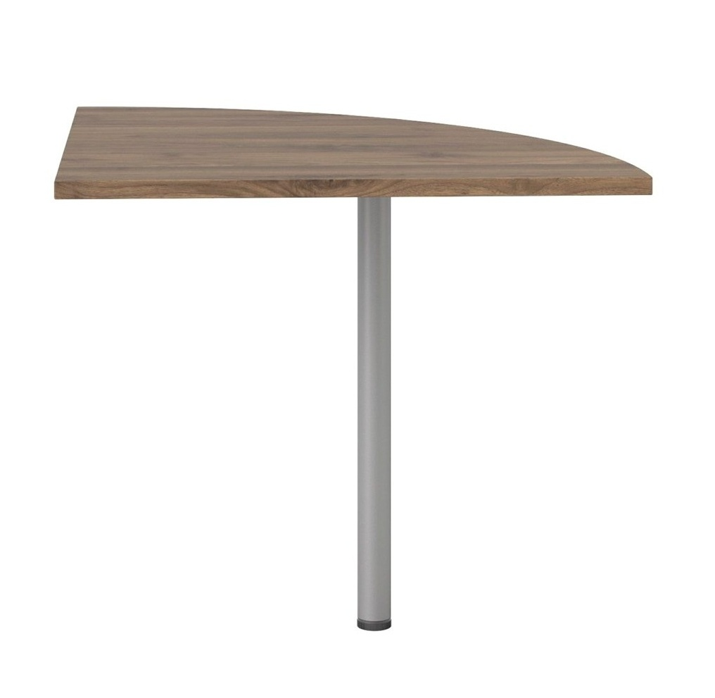 Rohový díl ke stolu Office 458 ořech/silver