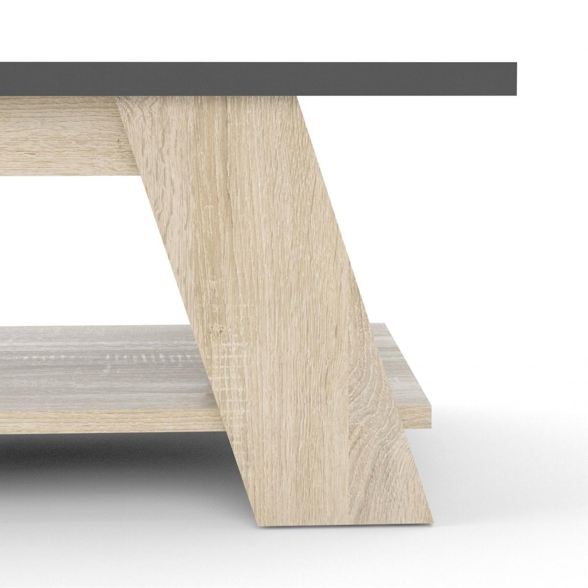 Konferenční stolek Liam 753 dub sonoma/grey