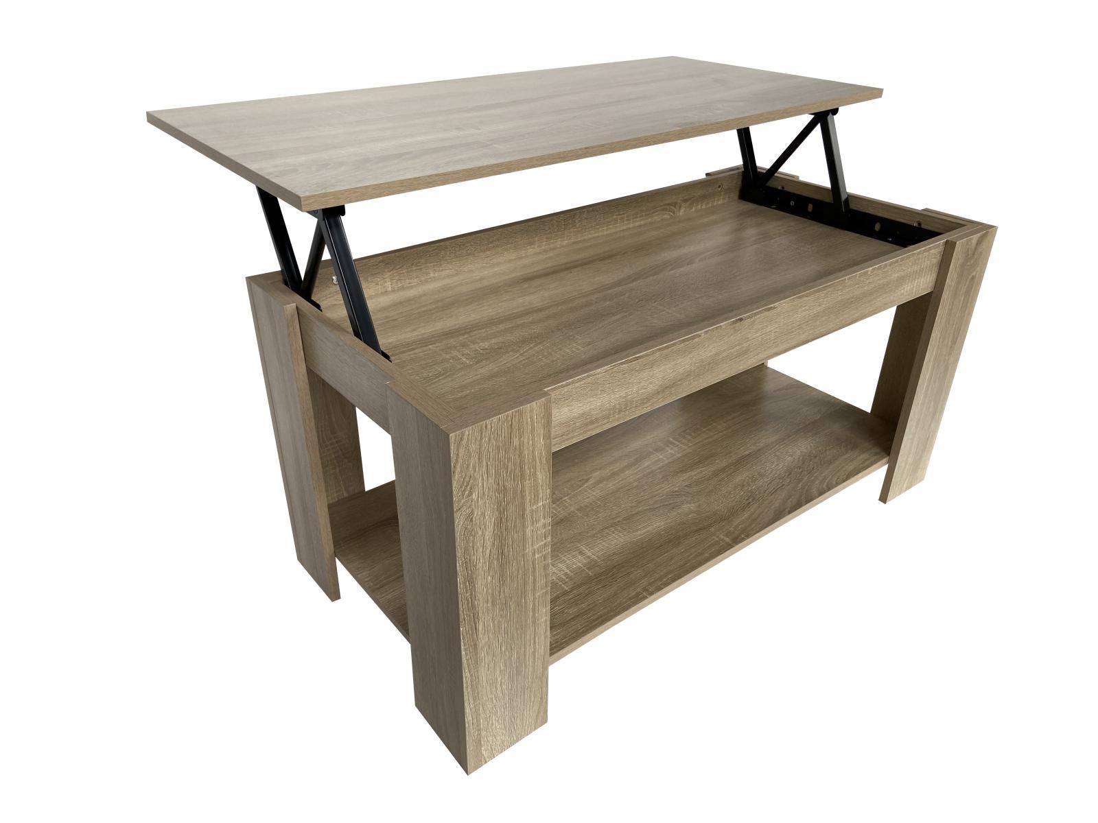Konferenční stolek Lotti dub sonoma