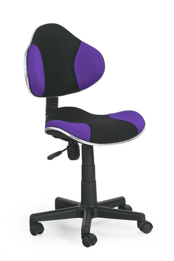Židle QZY-G2 černo-fialová