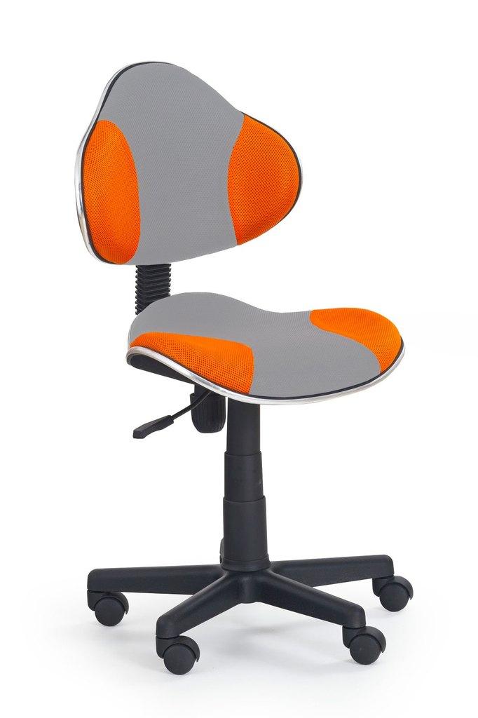 židle QZY-G2 šedo-oranžová