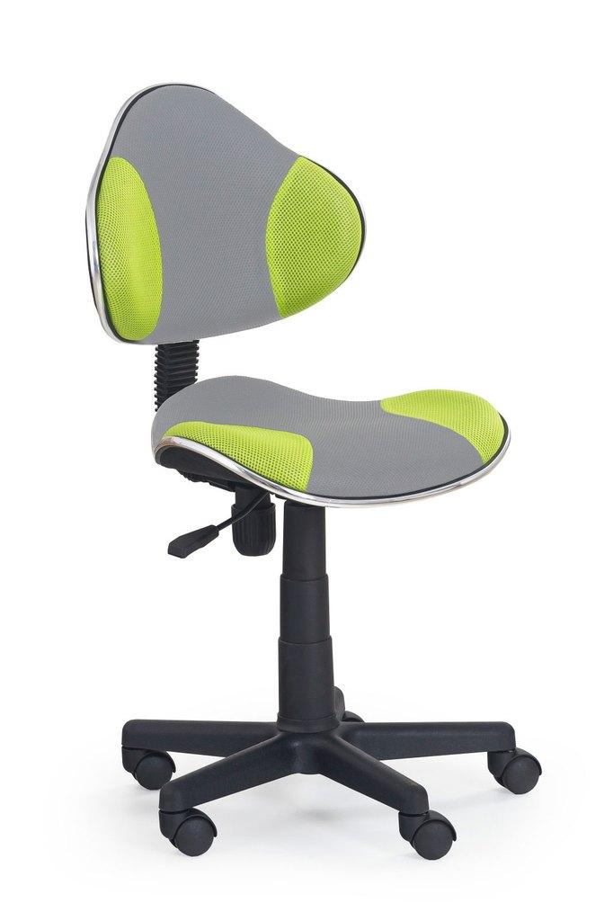 židle QZY-G2 šedo-zelená